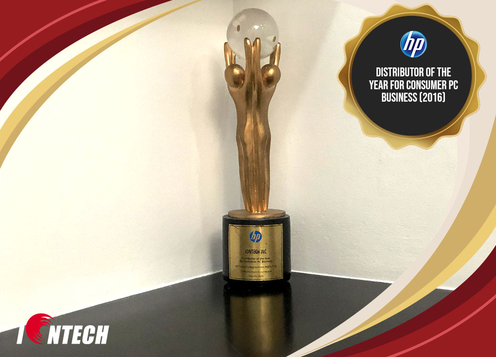 Distributor of the Year for Consumer PC Business (2016)