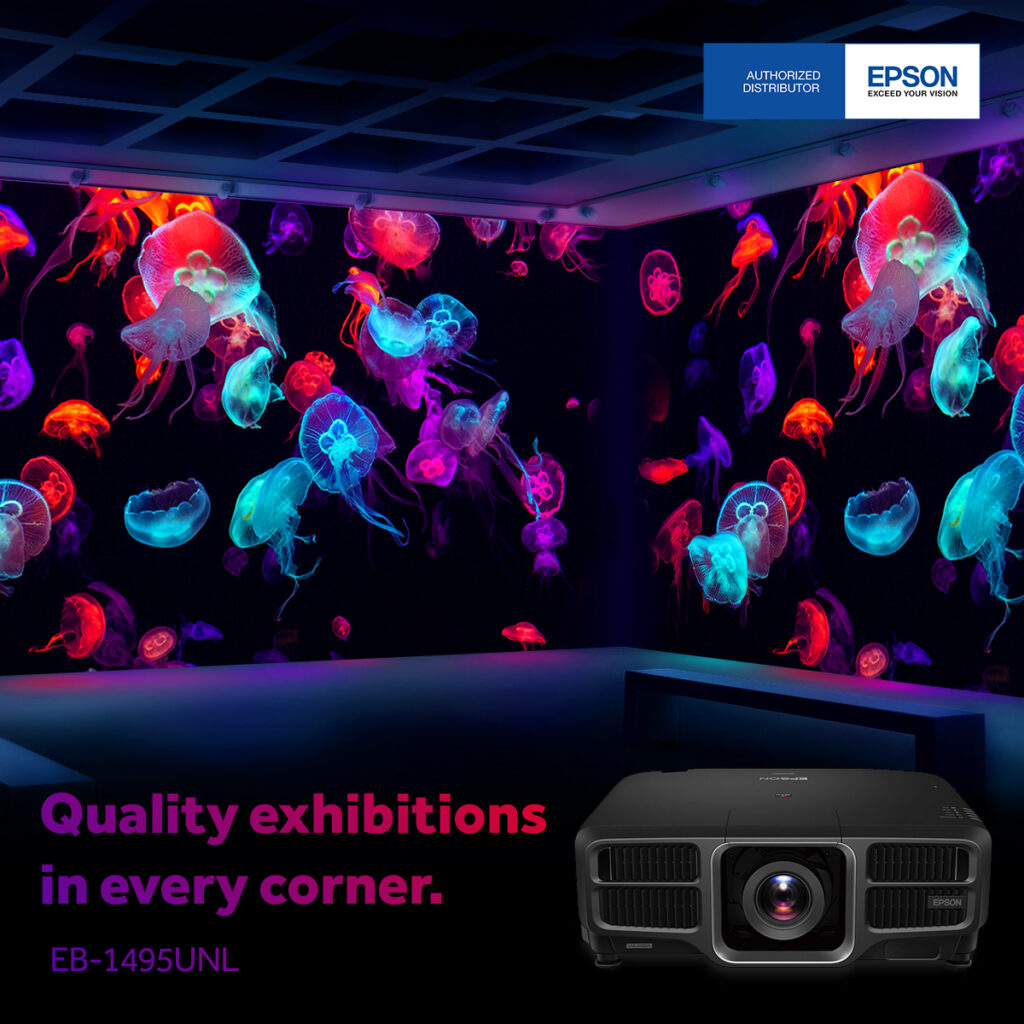 EB-1495UNL: High-definition Images with 4K Enhancement Technology